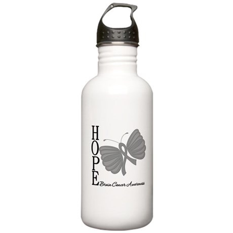 Hope Brain Cancer Stainless Water Bottle 1.0L