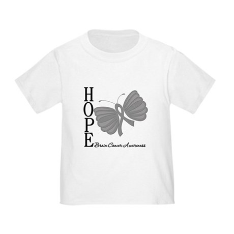 Hope Brain Cancer Toddler T-Shirt