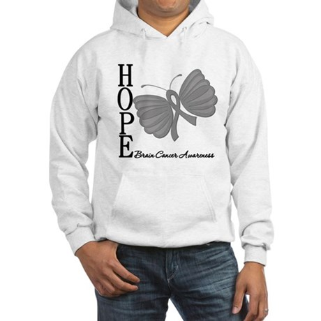 Hope Brain Cancer Hooded Sweatshirt