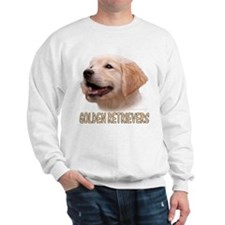 "GOLDEN RETRIEVER ""GR"" PUPPY HEAD DESIGN Sweatshirt"