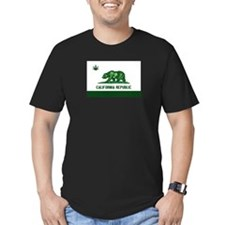 California Weed Flag T