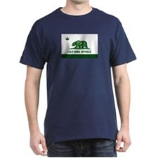 California Weed Flag T-Shirt