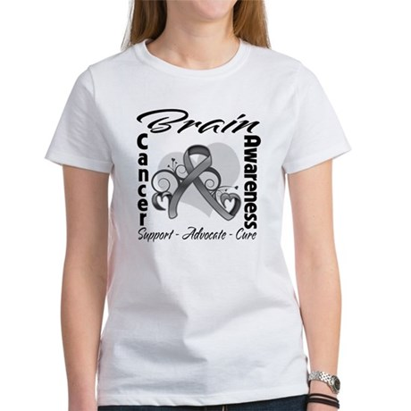 Awareness Brain Cancer Women's T-Shirt