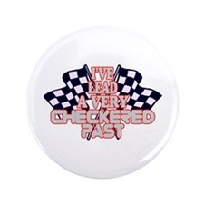 "Checkered Past 3.5"" Button (100 pack)"