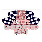 Checkered Past Postcards (Package of 8)