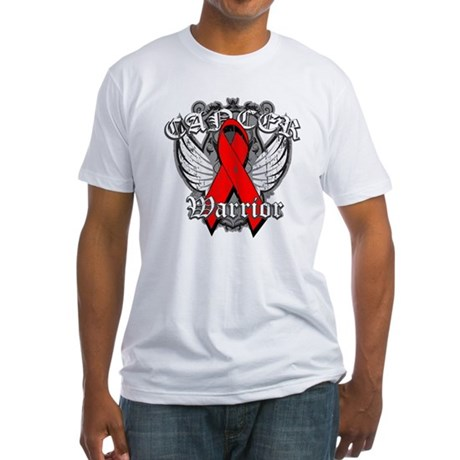 Blood Cancer Warrior Fitted T-Shirt