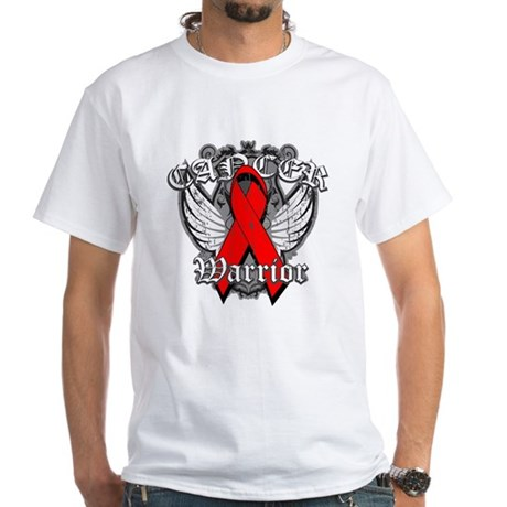 Blood Cancer Warrior White T-Shirt