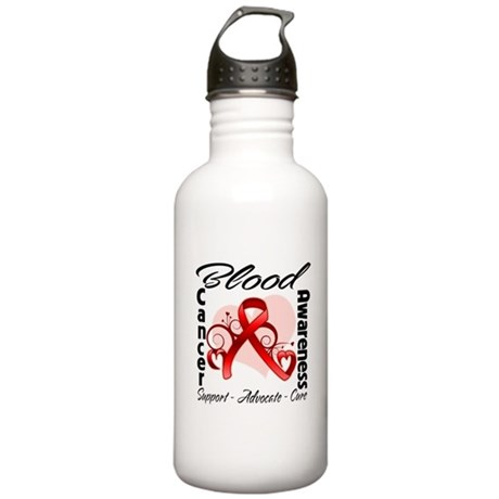 Blood Cancer Awareness Stainless Water Bottle 1.0L
