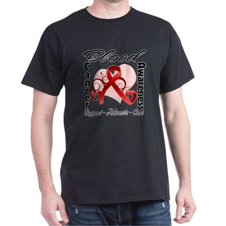 Blood Cancer Awareness Dark T-Shirt
