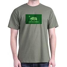 California Weed Flag T-Shirt