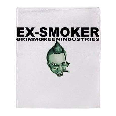Ex-Smoker Stadium Blanket