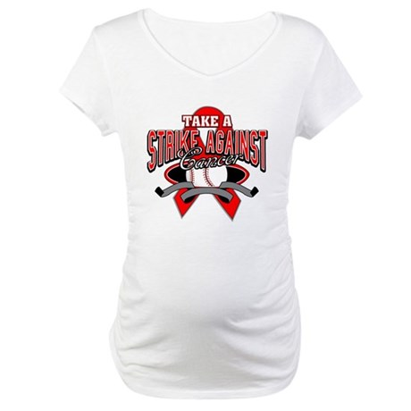 Take a Strike Blood Cancer Maternity T-Shirt