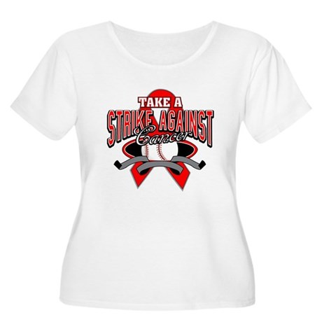 Take a Strike Blood Cancer Women's Plus Size Scoop
