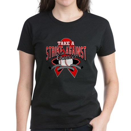 Take a Strike Blood Cancer Women's Dark T-Shirt
