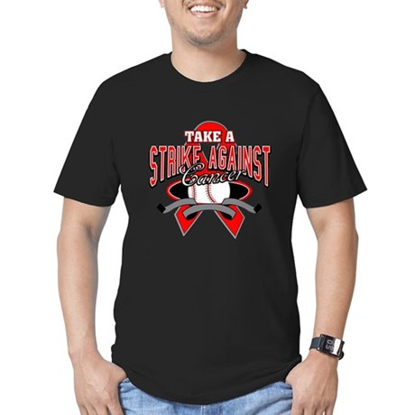 Take a Strike Blood Cancer Men's Fitted T-Shirt (d