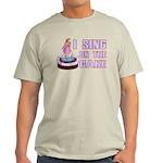 I Sing On The Cake Light T-Shirt