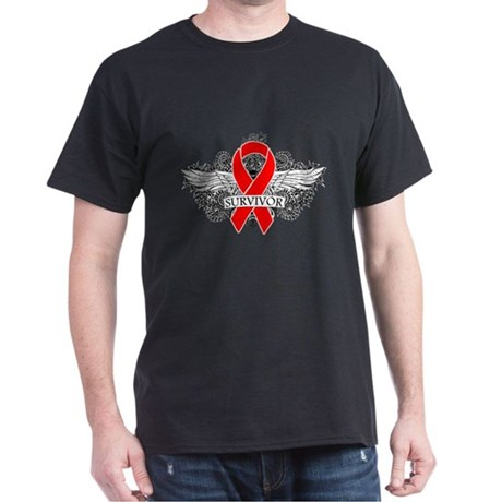 Blood Cancer Survivor Dark T-Shirt