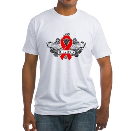 Blood Cancer Survivor Fitted T-Shirt