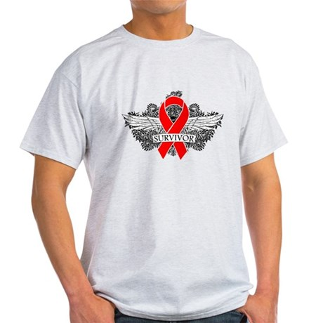 Blood Cancer Survivor Light T-Shirt