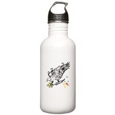 Eagle Feathers Sports Water Bottle