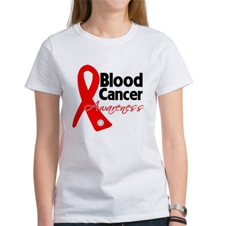 Blood Cancer Ribbon Women's T-Shirt