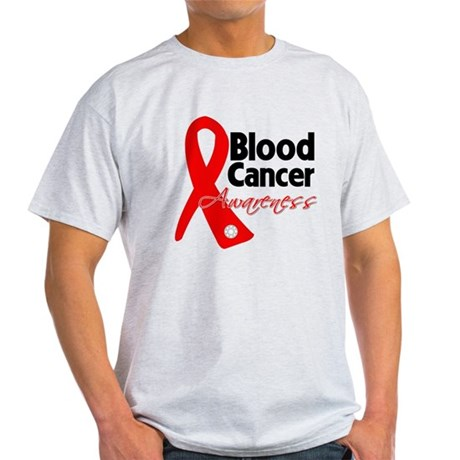 Blood Cancer Ribbon Light T-Shirt