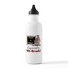 4th Grade School is Cool Water Bottle