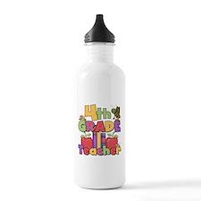 4th Grade Teacher Sports Water Bottle