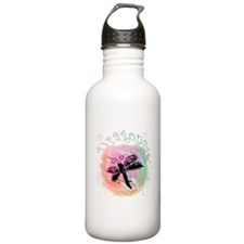Summer Dragonfly Water Bottle