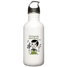 Portuguese Girls Rock Water Bottle