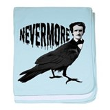Nevermore baby blanket