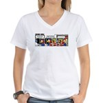 0392 - A mechanic's best... Women's V-Neck T-Shirt