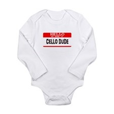Music Long Sleeve Infant Bodysuit