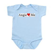 Angie Loves Me Infant Creeper