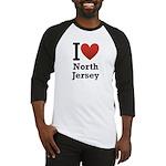 I <3 North Jersey Baseball Jersey