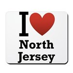 I <3 North Jersey Mousepad