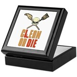 Clean Or Die Keepsake Box