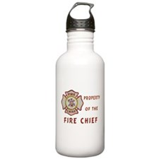 Fire Chief Property Water Bottle