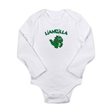 Liamzilla Long Sleeve Infant Bodysuit