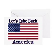 Take Back America Greeting Cards (Pk of 10)