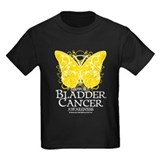 Bladder Cancer Butterfly T