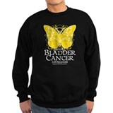 Bladder Cancer Butterfly Sweatshirt