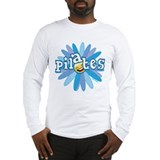 Pilates Flower by Svelte.biz Long Sleeve T-Shirt