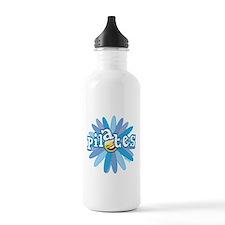 Pilates Flower by Svelte.biz Water Bottle
