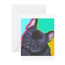 Fun Frenchie Greeting Cards (Pk of 10)