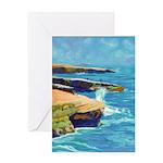 Ocean Beach Sunset Cliffs Greeting Card