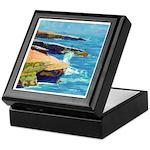 Ocean Beach Sunset Cliffs Keepsake Box