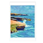 Ocean Beach Sunset Cliffs Postcards (Package of 8)