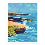 Ocean Beach Sunset Cliffs Small Poster