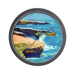 Ocean Beach Sunset Cliffs Wall Clock
